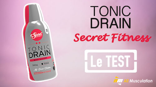 Test et avis : Tonic Drain de Secret Fitness