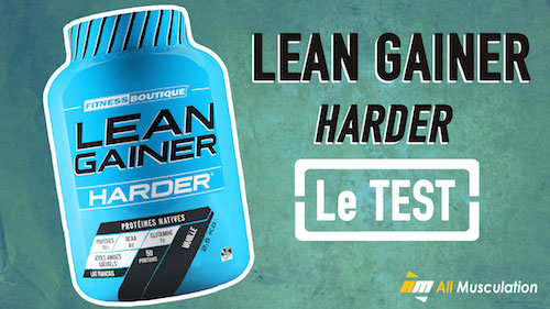 Test et avis : Lean Gainer de Harder
