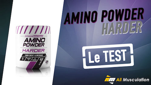 Test et avis : Amino Powder de Harder