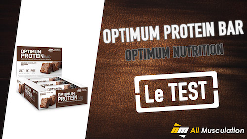 Test et avis : Optimum Protein Bar de Optimum Nutirtion
