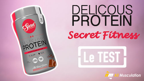 Test et avis : Delicious Protein de Secret Fitness