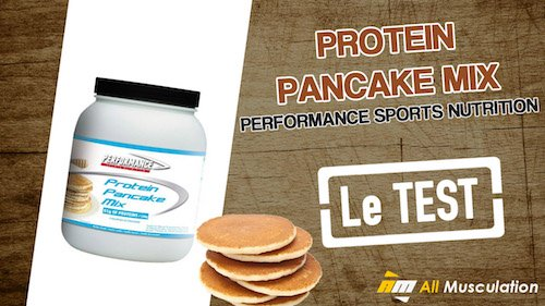 Test et avis : Protein Pancake Mix de Performance Nutrition