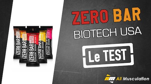 Test et avis : Zero Bar Biotech USA