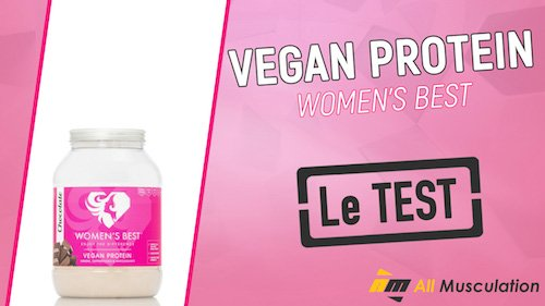 Test et avis : Vegan Protein de Women's Best
