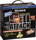 Test et avis : Cell Attack de Weider